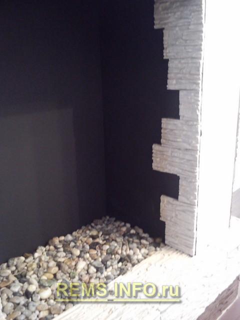 Этапы постройки камина мастер класс для начинающих #7