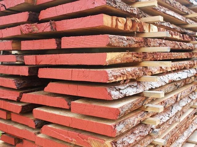 Сушка леса для строительства каркасных деревянных домов.