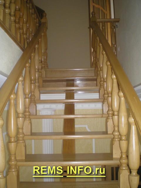 Лестница на второй на одном косоуре2.