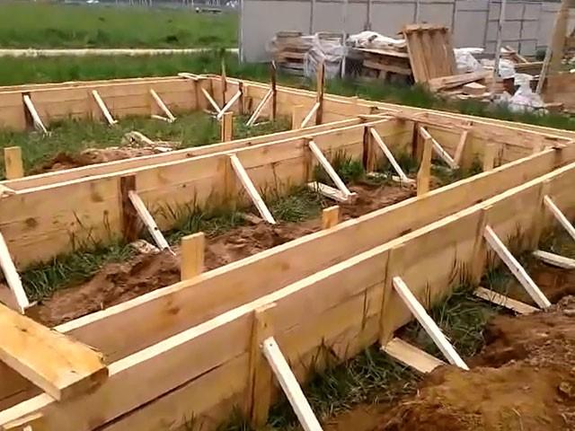 Опалубка для бетонной стены своими руками фото 88