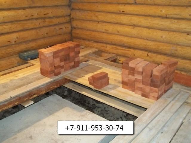 фото камин печь