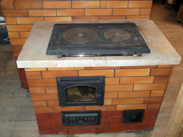 Печка-плита своими руками