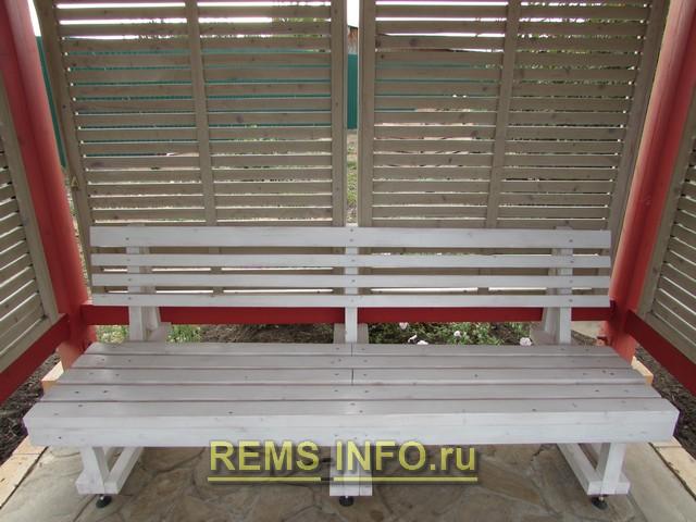 инструкция по сборке скамейки