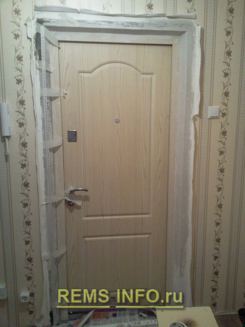 Как сделать портал для дверей 849