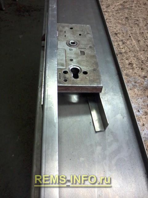 Изготовление дверной рамки.
