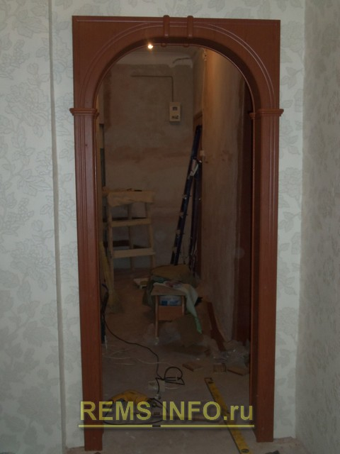 Инструкция по установке межкомнатной арки