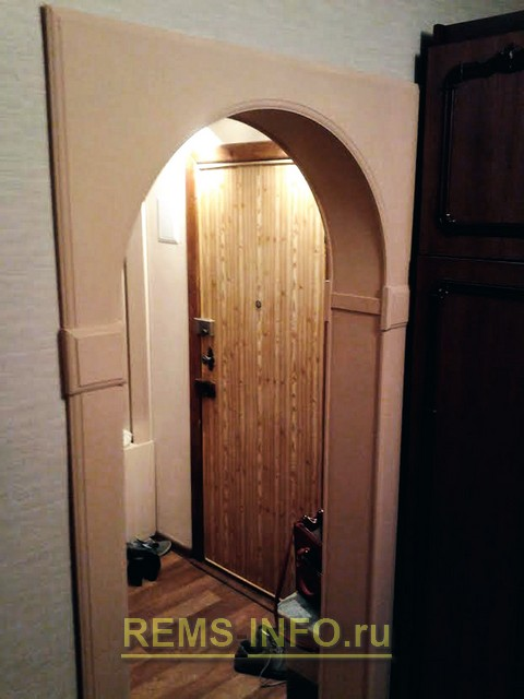 Дверная арка из мдф своими руками