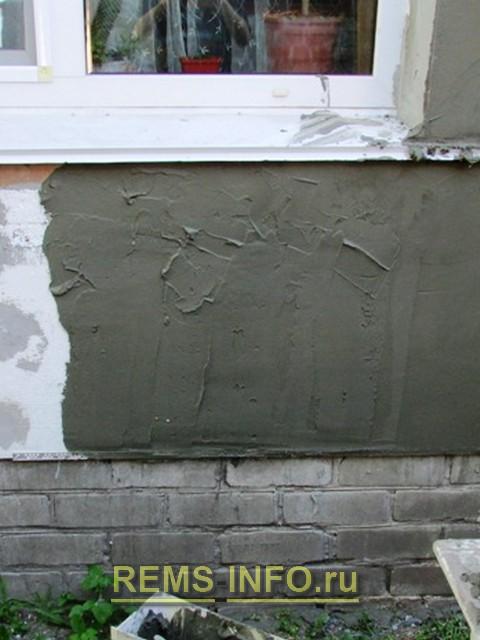 Клинкерной плитки и штукатурки на фасаде дома