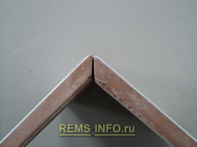 Как сделать внешний угол для плитки