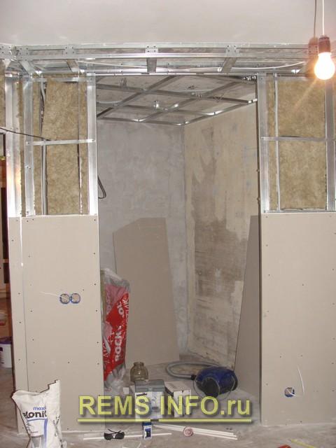 Сделать гардеробную комнату своими руками из гипсокартона