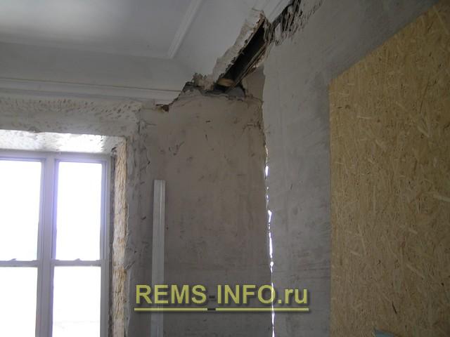 Ремонт стен в старом фонде
