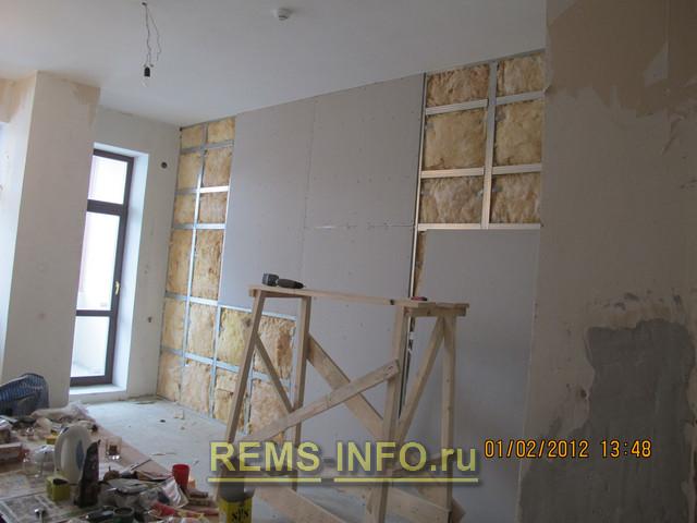Стены из гипсокартона своими руками и потолок