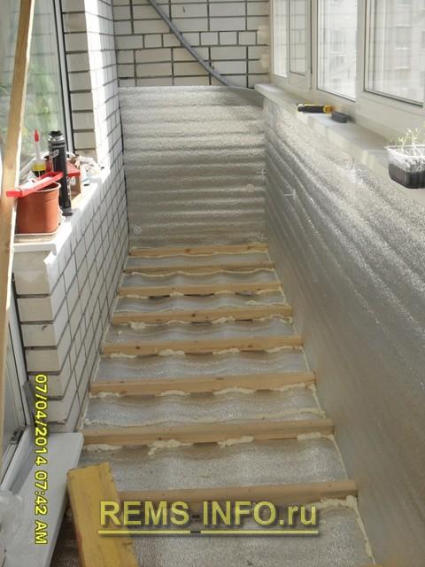 Ремонт лоджии 6 метров своими руками с фото ремонт балкона и.