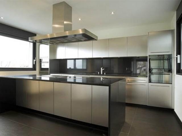 Кухня в стиле минимализм 3.