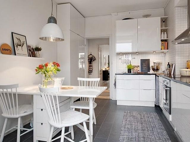 Кухня в скандинавском стиле 2.