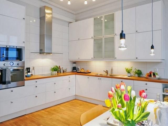Кухня в скандинавском стиле 3.