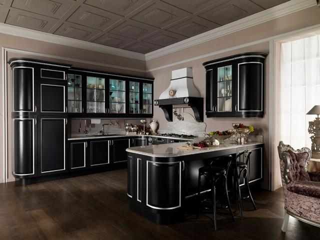 Кухня в в классическом стиле 2.
