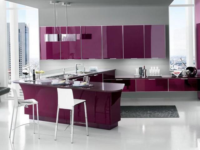 Кухня в стиле модерн 2.