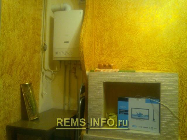 Портал для электрокамина своими руками из гипсокартона на кухне, фото
