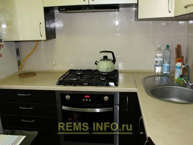 Ремонт кухни 6 кв м – вид после ремонта.