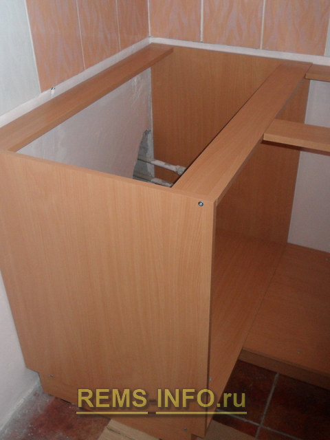 Угловой шкаф под мойку своими руками чертежи