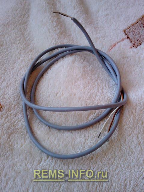 кабель для питания ленты