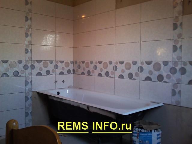 Ремонт в ванной комнате своими руками материалы