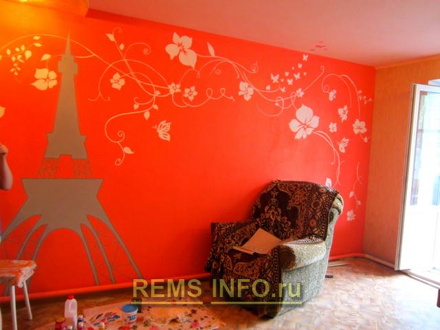 Декор стен в комнате своими руками фото 634