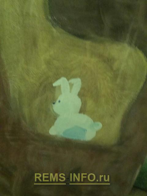 Рисуем кролика.