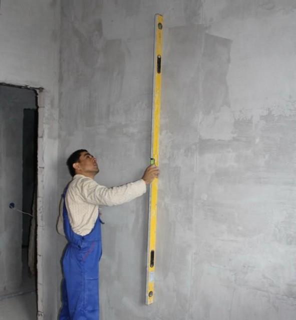 Штукатурка стен из газобетона своими руками