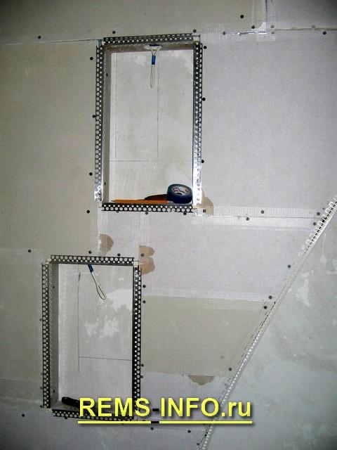 Угол из гипсокартона своими руками пошаговая инструкция фото