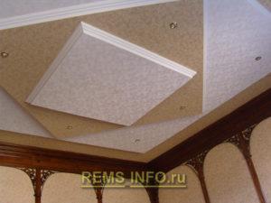 Подвесные потолки из гипсокартона фото5