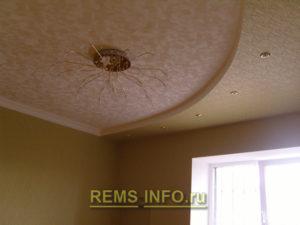 Потолок из гипсокартона фото10