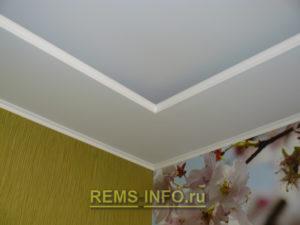 Подвесные потолки из гипсокартона фото28