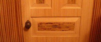 Как обновить старые межкомнатные двери.