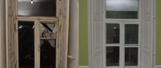 Реставрация деревянных окон.