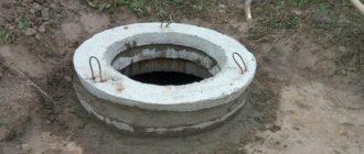 Наращивание канализационного колодца
