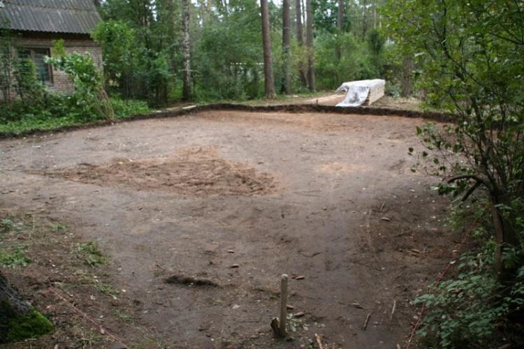 Расчистка участка для строительства дома