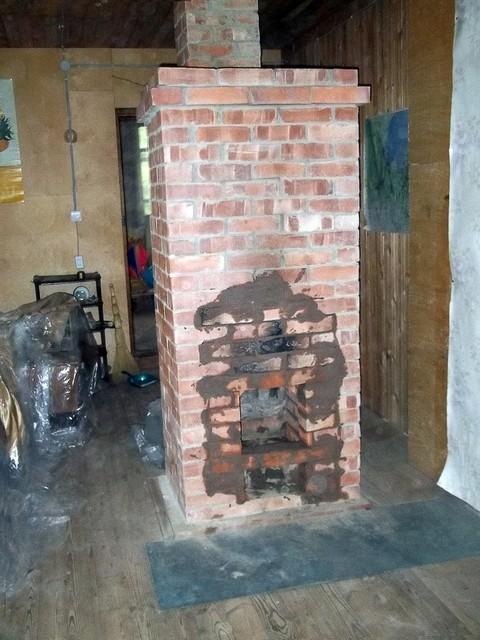фотографии печь из кирпича в гараже фото эта продуманность позволяет