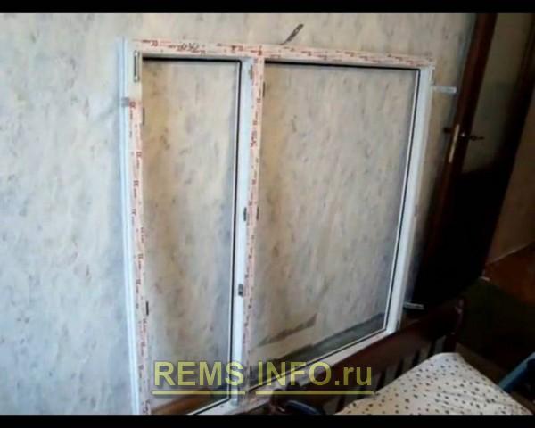 готовим пластиковое окно к установке