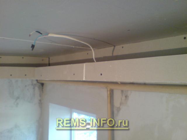 Как самому сделать потолок из гипсокартона фото 701