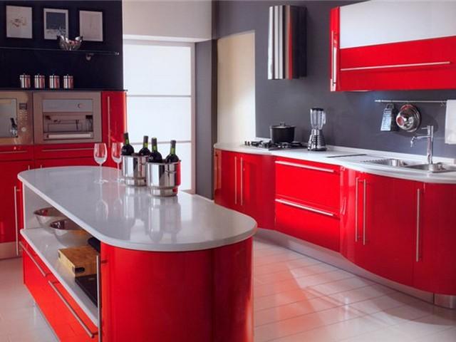 Кухня в стиле Хай-тек 4.