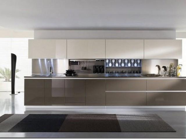 Кухня в стиле минимализм 2.