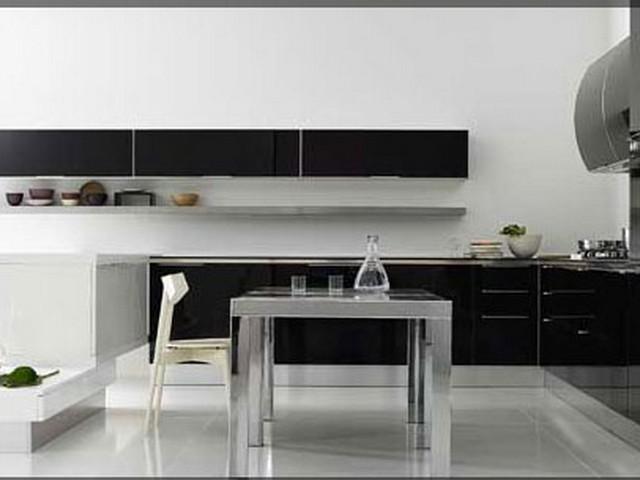 Кухня в стиле минимализм 4.