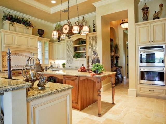 Кухня в колониальном стиле 3.