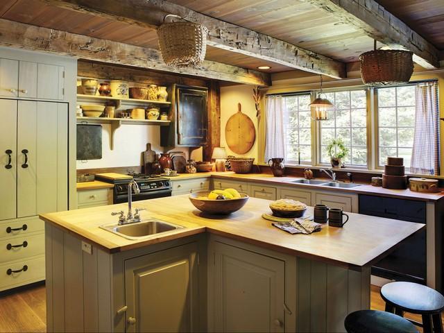 Кухня в колониальном стиле 4.