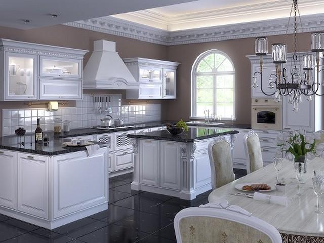 Кухня в викторианском стиле.