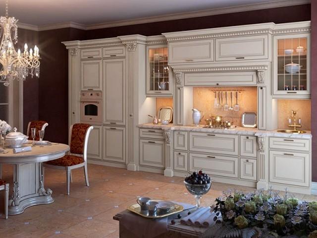Кухня в викторианском стиле 3.