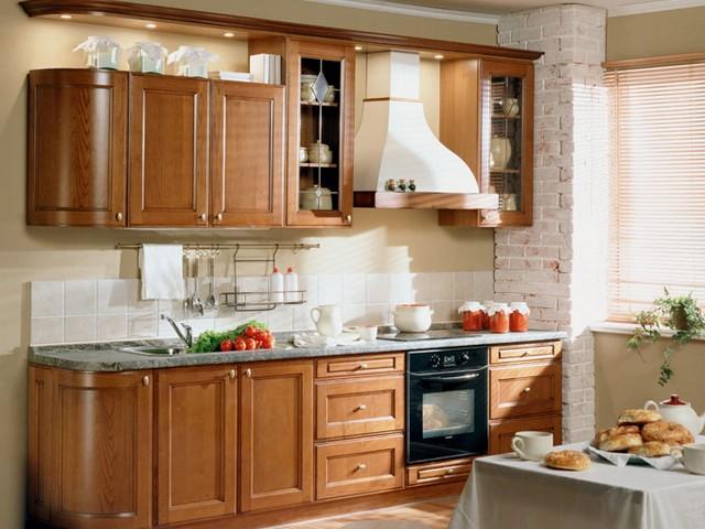 Кухня в в классическом стиле 3.