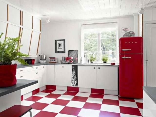 Кухня, выполненная в ретро стиле 3.